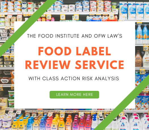 Food Label Review Service: