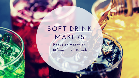Soft Drink Makers Focus on Healthier, Differentiated Brands
