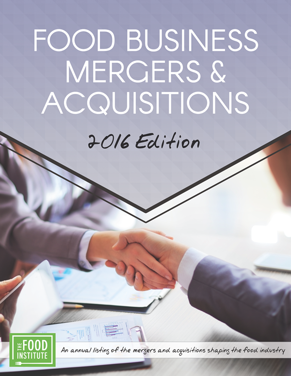 Food Business Mergers & Acquisitions 2016