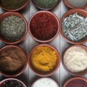 assorted spices in clear glass containers, spice boom, food institute focus